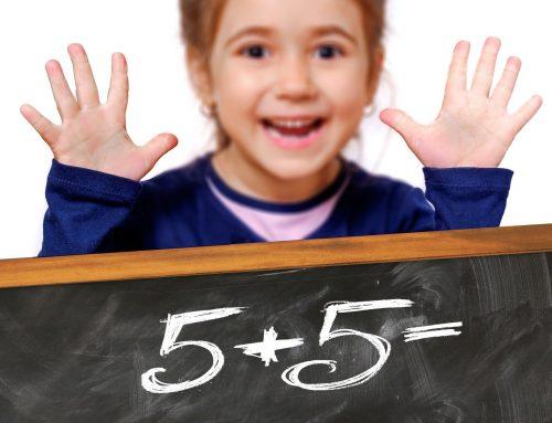 Grundschüler rechnen sicher